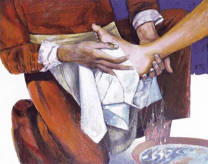 """Résultat de recherche d'images pour """"christ lavement des pieds"""""""